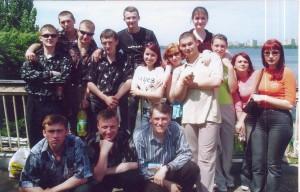 Коллективное фото на сессии